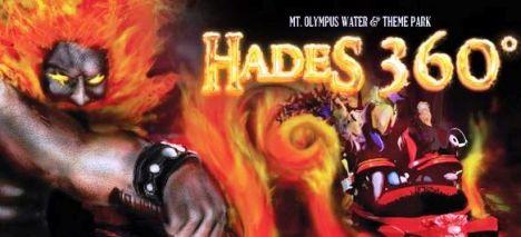 Mt. Olympus Water & Theme Park Nel 2013 Hades diventerà Hades 360