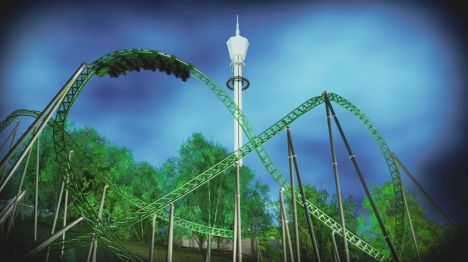 Liseberg In arrivo 'Projekt Helix', primo coaster multi-launched in Europa