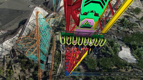 Six Flags Magic Mountain Novità 2013: Full Throttle, un multi-launch coaster con loop da record