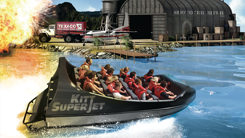 Movieland Park Ecco lo spot di Kitt SuperJet