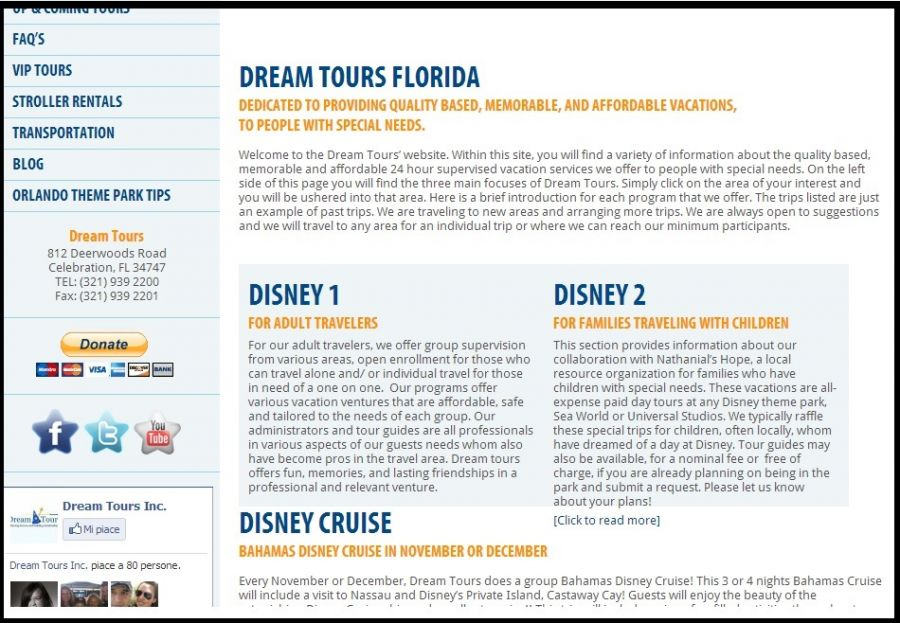Walt Disney World.. | Disabili in affitto per salt..