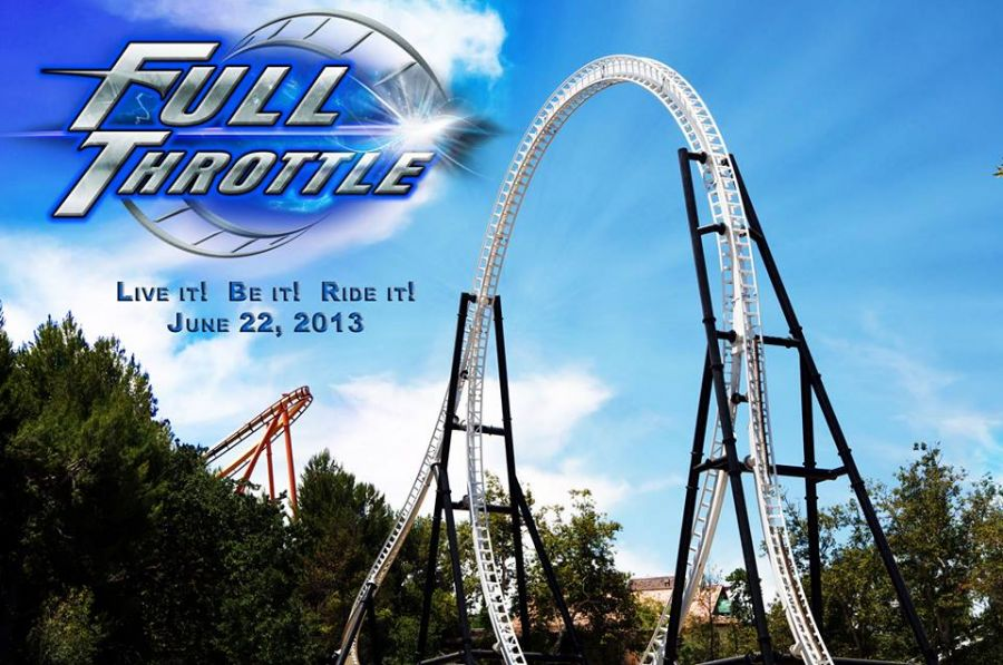 Six Flags Magic Mountain Full Throttle è finalmente aperto