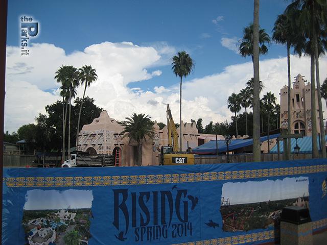 Busch Gardens Tampa Le prime foto di Falcon's Fury