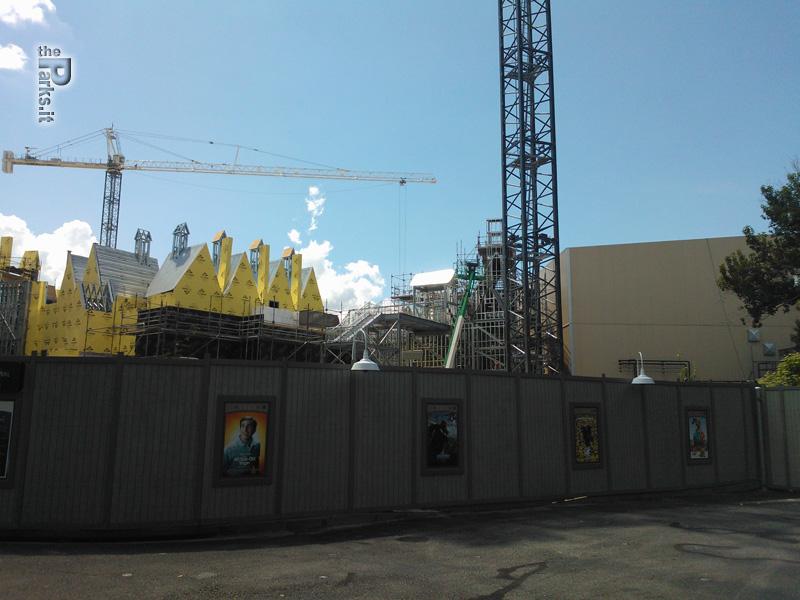 Universal Studios Florida Lo stato dei lavori dell'espansione di Harry Potter