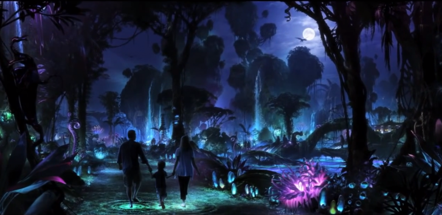 Disney's Animal Kingdom Le luci e i colori di Pandora, Avatarland