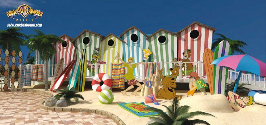 Parque Warner Madrid Warner Beach inaugura a Giugno