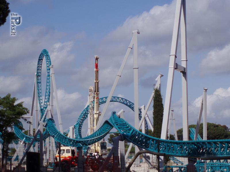 Cinecittà World Video dei primi test del roller coaster