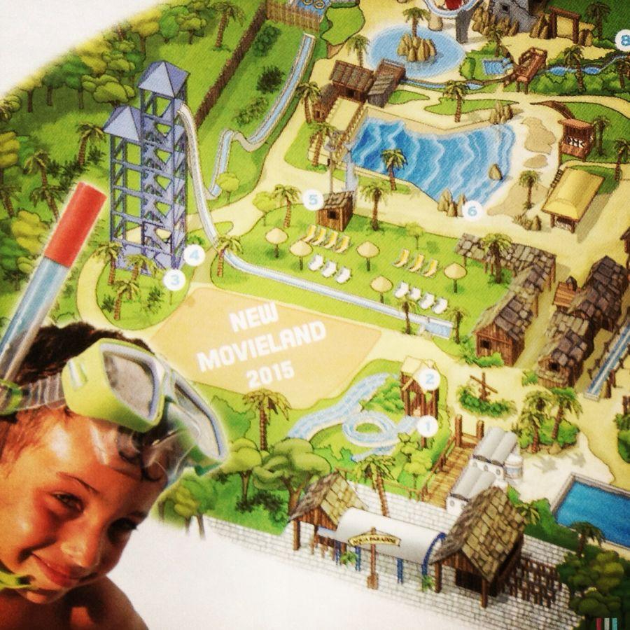 Movieland Park E' questa la zona dove sorgerà il nuovo Roller Coaster 2015?