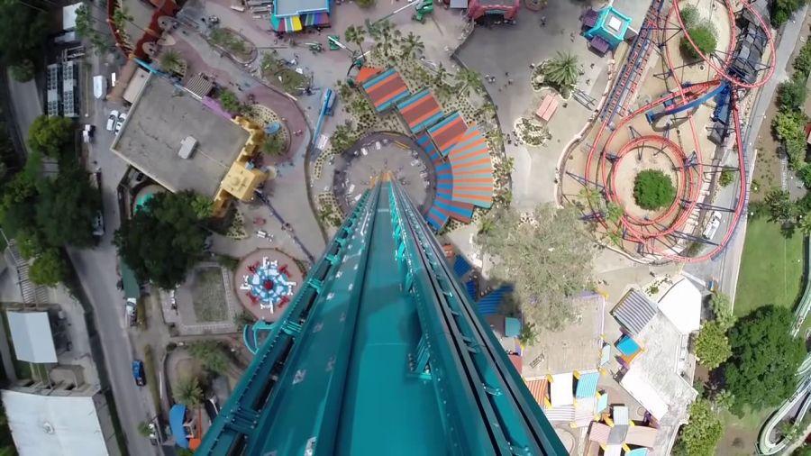 Busch Gardens Tampa Apre Falcon's Fury, la prima torre di caduta a