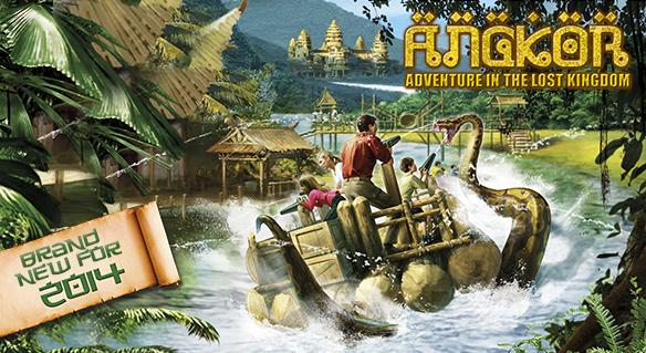 PortAventura Park La novità è lo Splash Battle di Angkor