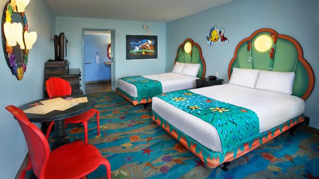 Camere Disneyland Hotel : Hotel nei parchi incredibili camere a tema