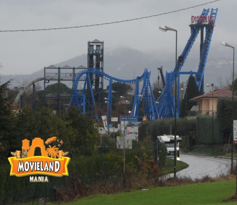 Movieland Park Concluso il tracciato anche di Diabolik: apertura il 3 Aprile