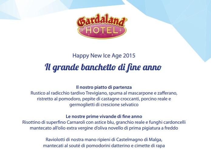 Gardaland Capodanno con cenone e pernottamento