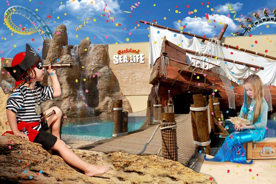 Gardaland Sea Life Aquarium Bambini gratis il primo Weekend di Marzo