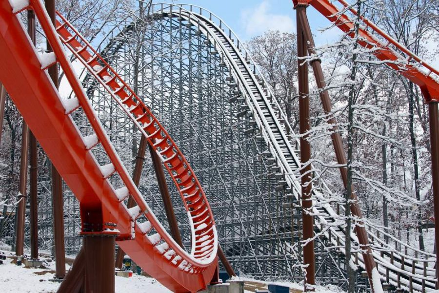 Holiday World Il primo coaster alato e lanciato B&M