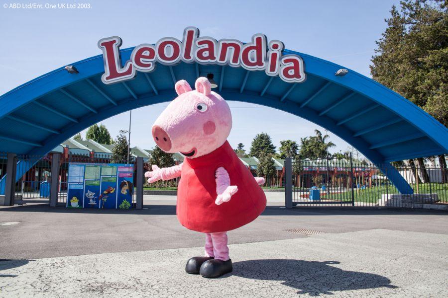 Leolandia In costruzione la casa di Peppa Pig