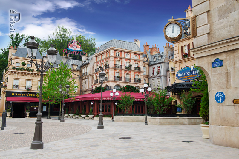 Walt Disney Studios Park (Parigi) Due incredibili video di Ratatouille