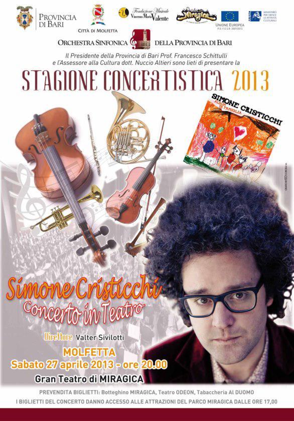 Miragica - La Terra dei Giganti Simone Cristicchi in concerto