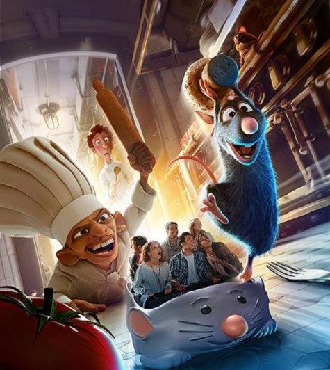 Walt Disney Studios Park (Parigi) Ratatouille: ufficializzata finalmente la novità 2014 del parco tematico francese