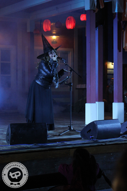 Leolandia Cristina d'Avena in concerto per Halloween