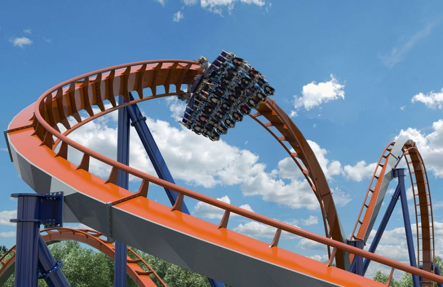 Cedar Point I barbosissimi record del nuovo Dive Coaster Valravn