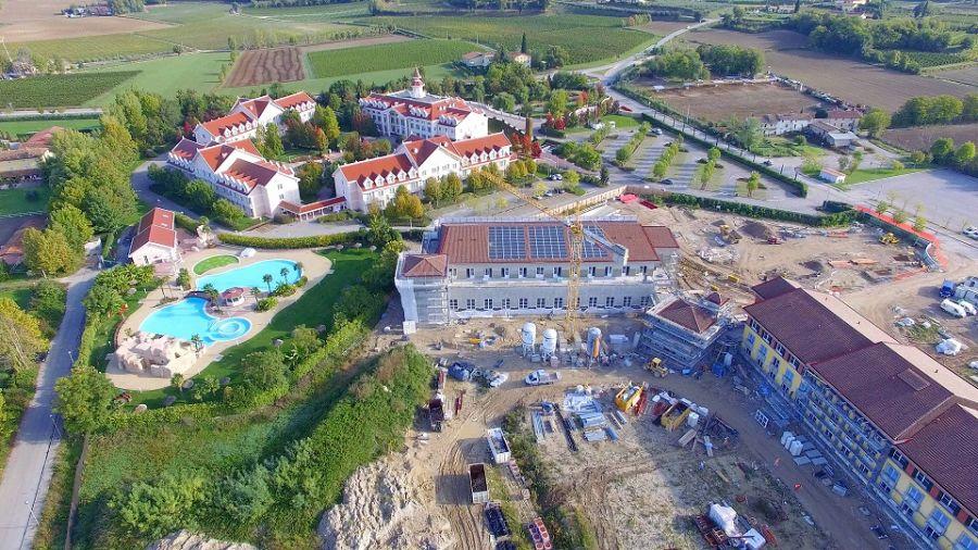 Gardaland Resort Immagini dall'alto dell'Adventure Hotel