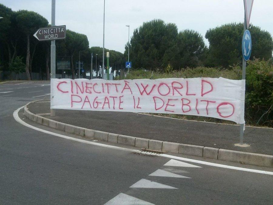 Cinecittà World Sotto pignoramento: non hanno pagato i costruttori