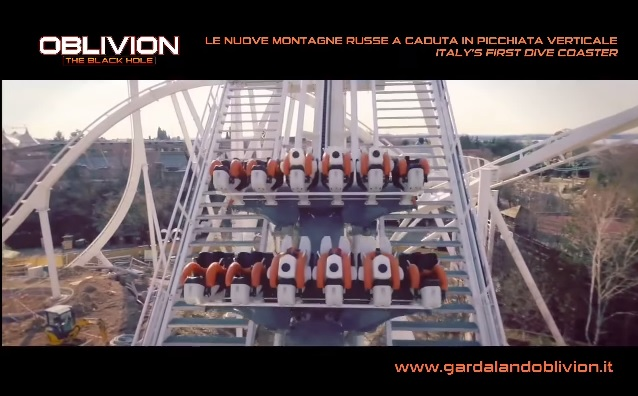 Gardaland VIDEO: i test di Oblivion coi Dummies