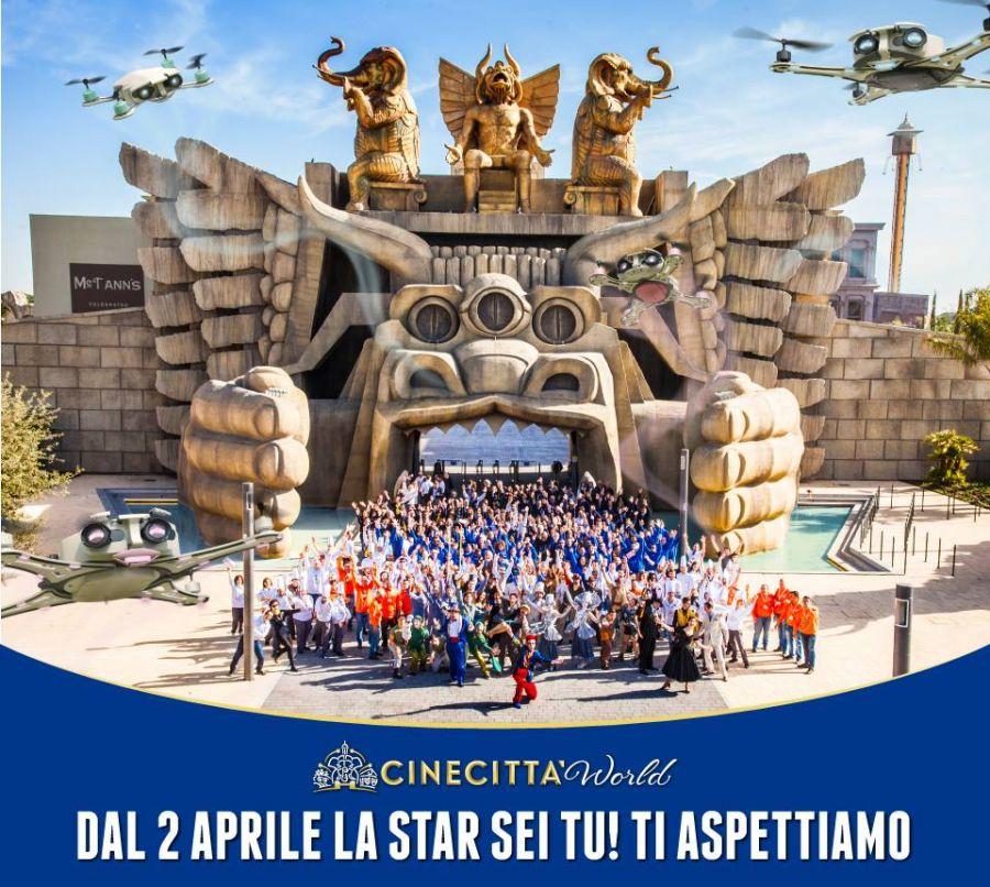 Cinecittà World Menù speciale a 12.90€ per Pasqua e Pasquetta