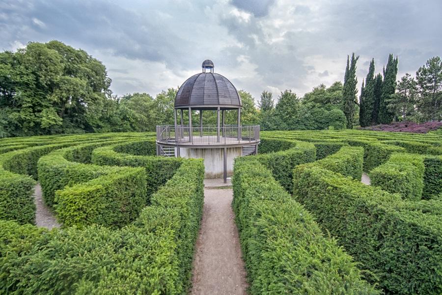 Parco Giardino Sigurtà Sorvolando il giardino più bello d'Italia