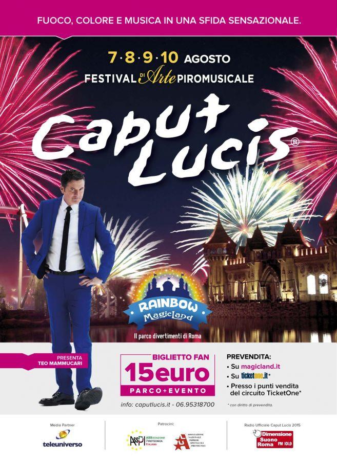 Rainbow MagicLand Caput Lucis a 15 euro parco + evento!
