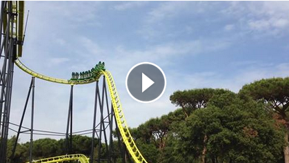 Cavallino Matto VIDEO e foto di FreeStyle, il coaster in piedi