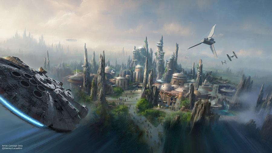 Disneyland Park (California) Star Wars land arriverà nei parchi Disney americani