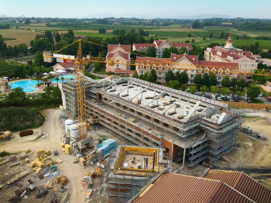 Gardaland Resort Prime immagini del nuovo Hotel