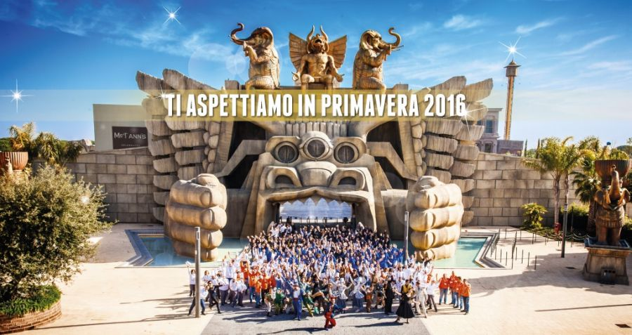 Cinecittà World Il calendario 2016