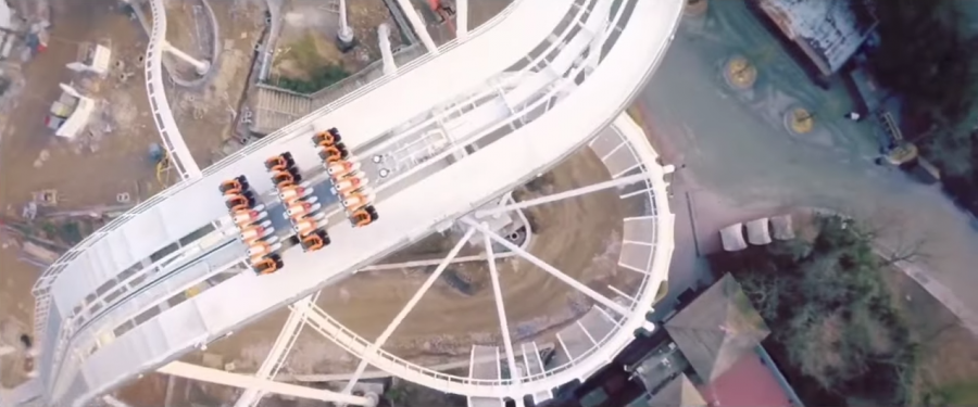 Gardaland In anteprima assoluta il video COMPLETO on-off ride di Oblivion