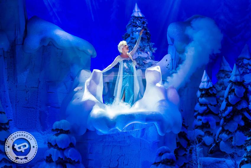 Disneyland Park Paris Natale vuol dire: Frozen, Disney Dreams, Principesse e la Parata
