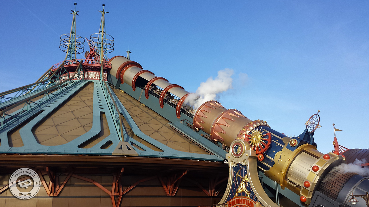 Disneyland Park Paris Space Mountain, addio per sempre