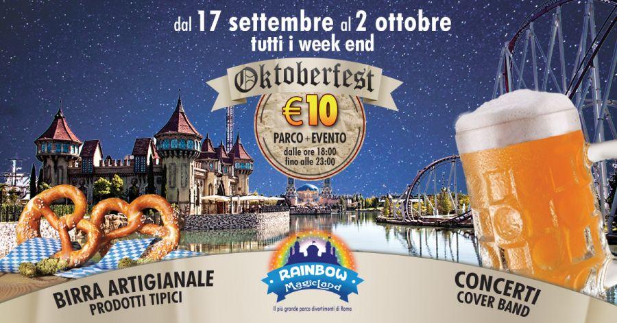 Rainbow MagicLand Oktober Fest dal 17 settembre al 2 ottobre