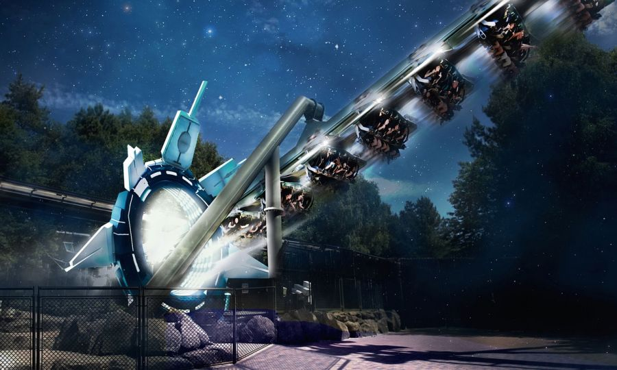 Alton Towers Air diventa Galactica il coaster con realtà virtuale