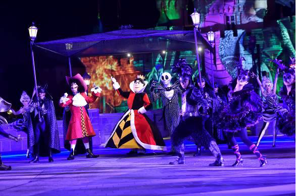 Hong Kong Disneyland Park [ENG] Villains from 24 Disney stories have officially taken over Hong Kong Disneyland