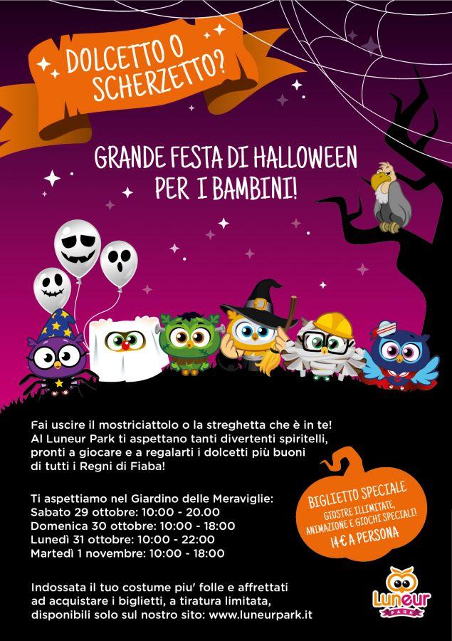 Luneur Primo evento Halloween