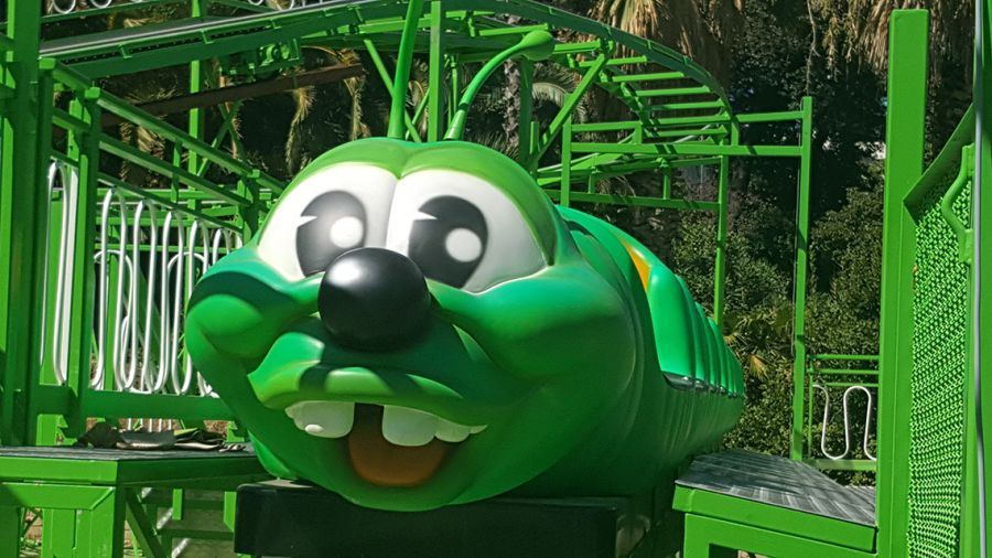 Luneur Arriva il coaster: è powered, è il BrucoMela