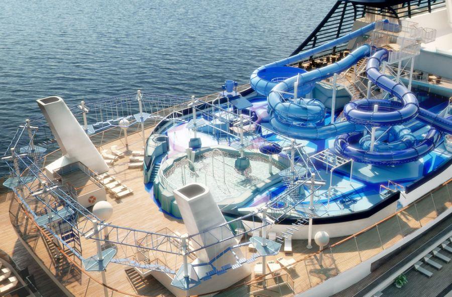 Msc Meraviglia - Parco avventura, acquatico e playground a bordo