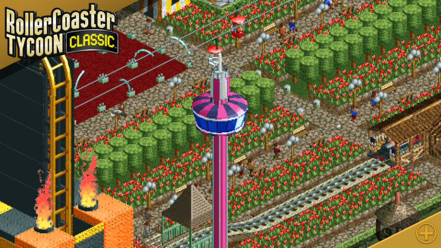 Rollercoaster Tycoon Classic - RCT 1 & 2 finalmente su smartphone e tablet!
