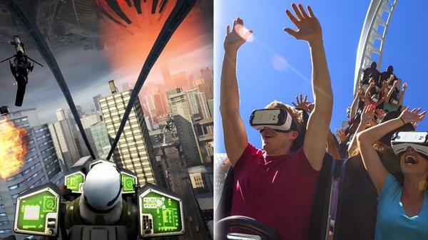 Realtà Virtuale - La lista dei 10 VR roller coaster