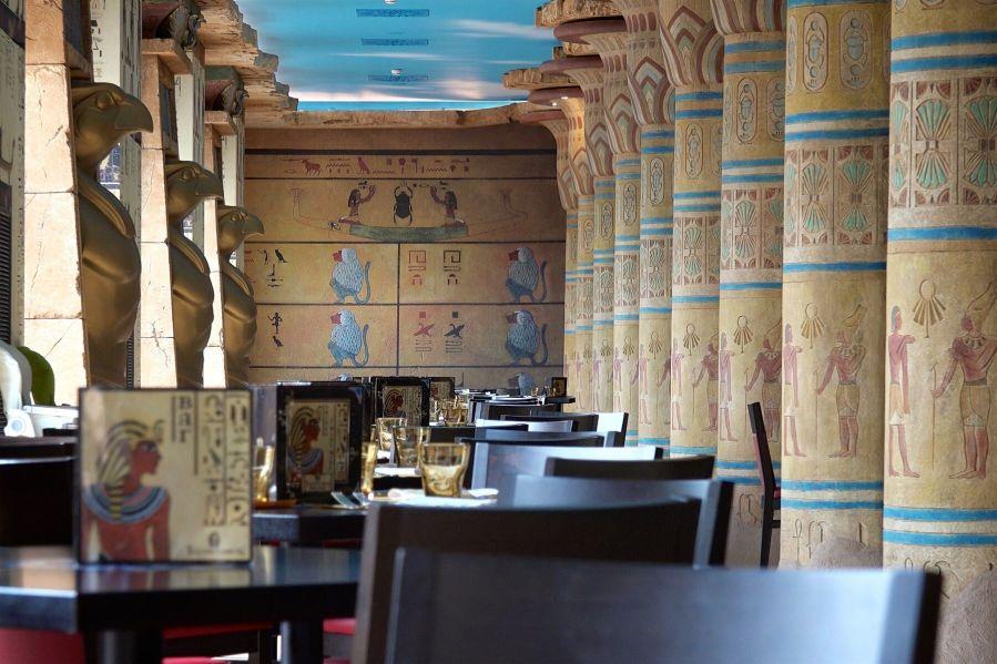 Gardaland Resort Gli esotici menù del Tutankhamon Restaurant