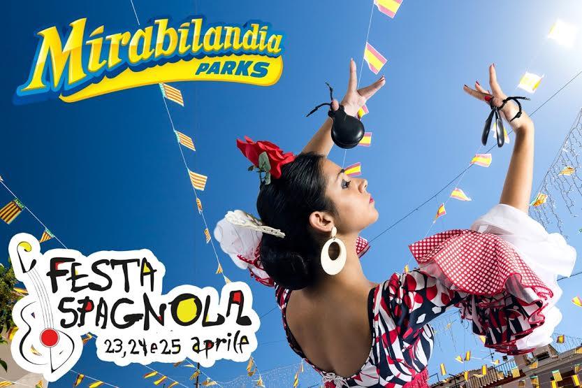 Mirabilandia W la Spagna, 25 Aprile scontato di 10 euro!
