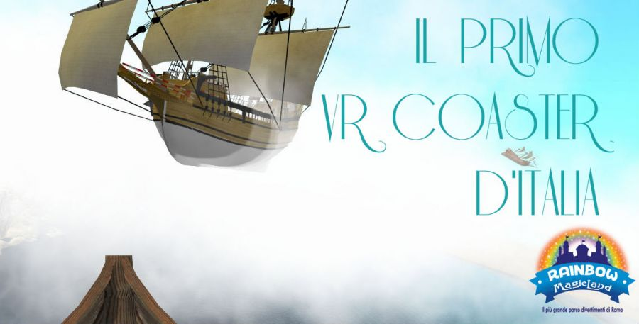 Rainbow MagicLand Il primo VR coaster d'Italia è l'Olandese Volante!