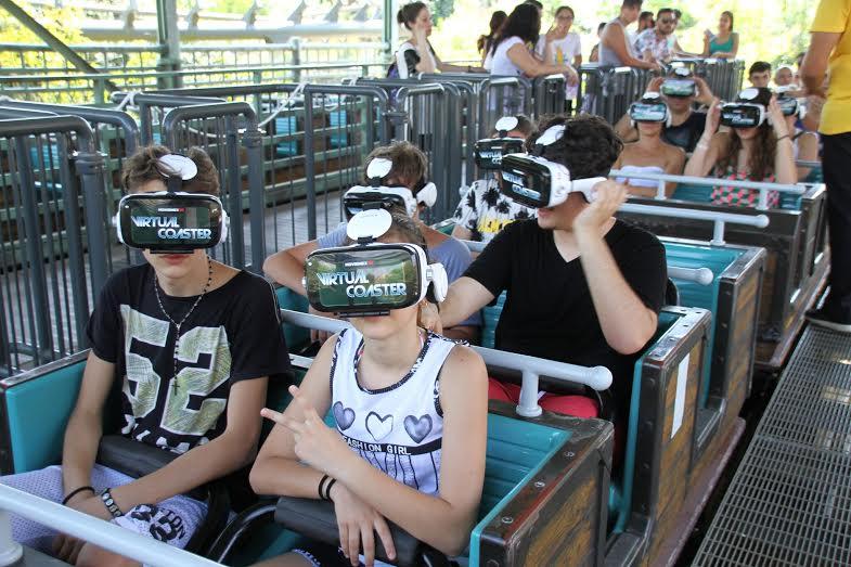 MagicLand Virtual Coaster sull'Olandese Volante. Ci è piaciuto?